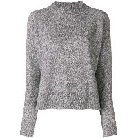 Woolrich crew neck jumper - グレー