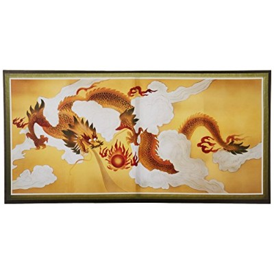 Oriental Furniture Dragons in the Skyキャンバス壁アート