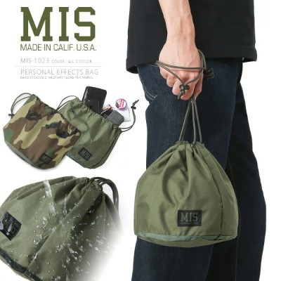 MIS エムアイエス MIS-1023 米軍実物生地使用 パーソナルエフェクツバッグ / ポーチ MADE IN USA《WIP》ミリタリー 軍物 メンズ 男性 ギフト プレゼント(クーポン対象外...