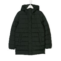 Save The Duck Kids hooded padded coat - グリーン