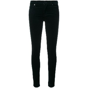 7 For All Mankind low skinny jeans - グリーン