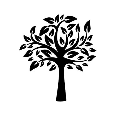 (50cm x 50cm) - Tree of Life Stencil Template - Reusable Stencil with Multiple Sizes Available