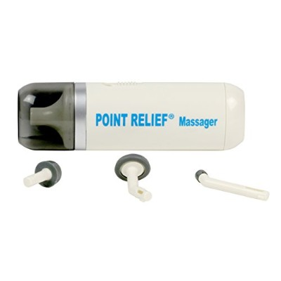 Point-Relief® Mini-Massager with Accessories (アクセサリー付ミニマッサージ)