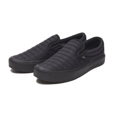 【VANS】SLIP-ON LITE ヴァンズ スリッポンライト VN0A2Z63UCZ 18FA (QUILTED)BK/BK