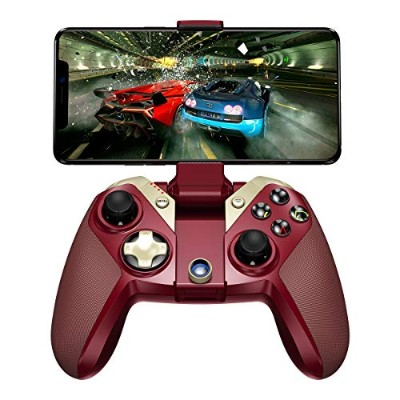 GameSir M2 Bluetooth MFi ゲームパッド iphoneコントローラー Apple公式認証 iPhone/iPad/iPod/MAC/AppleTV/Tello対応 (レッド)