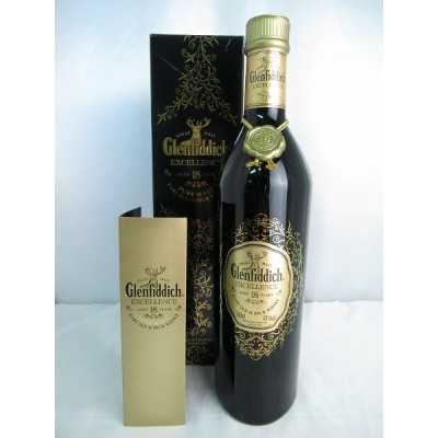 Glenfiddich EXCELLENCE PURE MALT AGED 18 YEARS RARE OLD SCOTCH WHISKY グレンフィディック エクセレンス ピュア モルト 18年...