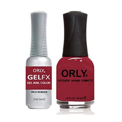 Orly - Perfect Pair Matching Lacquer + Gel FX - Wild Wonder - 0.6 oz / 0.3 oz