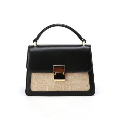 actuel actuel/(W)【LE VERNIS】 生地コンビミニBAG インタープラネット バッグ【送料無料】