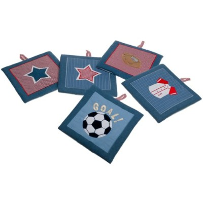 All Star Wall Hanging ~ Sports Theme ~ Lambs & Ivy by Lamp & Ivy