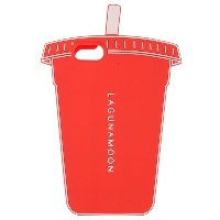 【SALE 66%OFF】LAGUNAMOON iPhoneケース【Cup】 7(オレンジ)