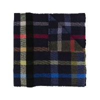 Vivienne Westwood Checked Orb scarf - ブルー