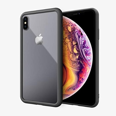 ABSOLUTE・LINKASE AIR/Gorilla Glass for iPhone XS Max (ブラック)