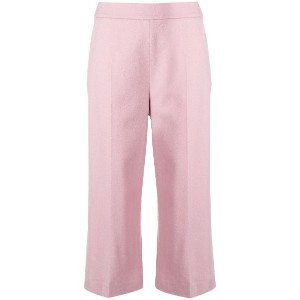 Max Mara cropped tailored trousers - ピンク