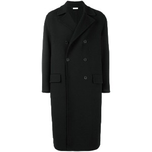 Jil Sander Radetzky double-breasted coat - ブラック