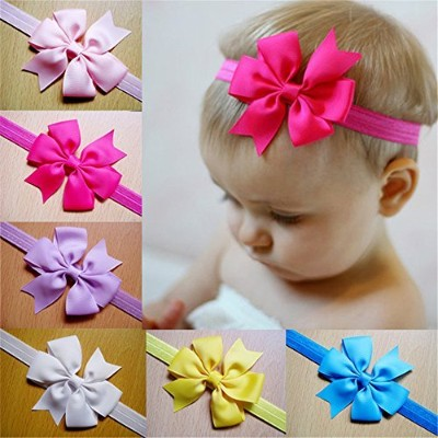 Lovely Baby Girl Headbands Cute Flower Hair Accessories Bows Hair Bands 12pcs by Rainbow-Lee