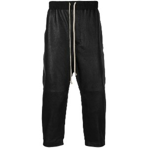 Rick Owens cropped trousers - ブラック