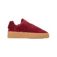 Dsquared2 shearling-lined sneakers - レッド