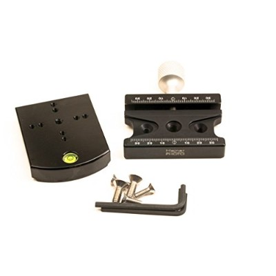 HejnarフォトArcaタイプConversion Set for Manfrotto 405GEAR HEAD–Made in USA