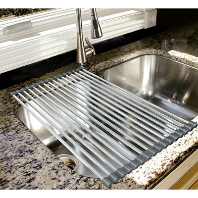 REAL HOME Innovations Aluminium Over Sink Drying Rack