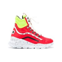 MSGM Tractor sneakers - レッド