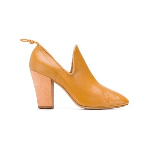 Lemaire closed pumps - イエロー