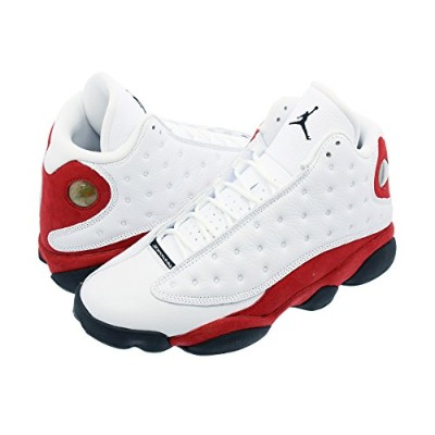 [ナイキ] NIKE AIR JORDAN 13 RETRO WHITE/BLACK/TEAM RED [並行輸入品]