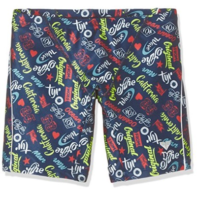 TYR(ティア) 【POP LOGO】MEN'S LONG BOXER JPOPL-17S ネイビー L