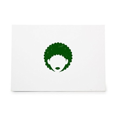 Afro Hair Girl African Style 6070, Rubber Stamp Shape great for Scrapbooking, Crafts, Card Making,...