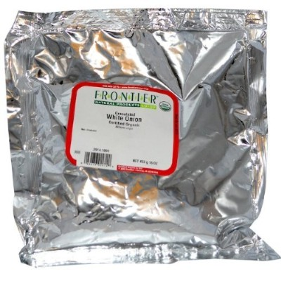 Frontier Natural Products 2914 Onion, White Granules Organic by Frontier
