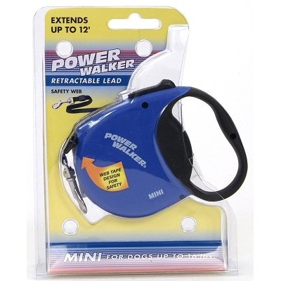 Coastal Pet Products CO08785 8702 X-Small Power Walker Retractable Lead - Blue