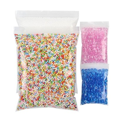 Yamally_9R 4PCs DIY Crunchy Homemade Slime Crafts Party Fishbowl Beads Multiple Colour Beads...