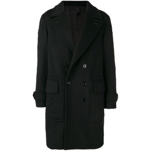 Tom Ford double breasted coat - ブラック