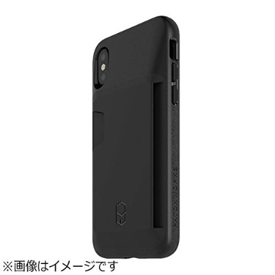 PATCHWORKS iPhone X用 Level Wallet Case ブラック BLWA81