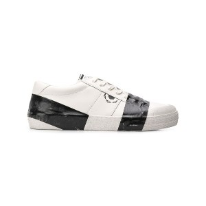Moa Master Of Arts Playground tape detail sneakers - ホワイト