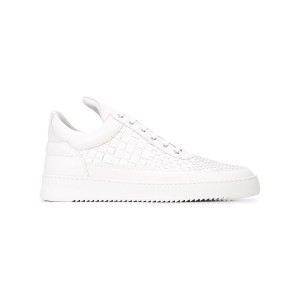 Filling Pieces woven intrecciato sneakers - ホワイト