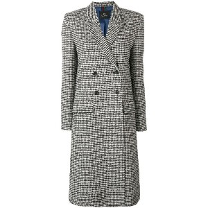 Ps By Paul Smith midi buttoned coat - ブラック