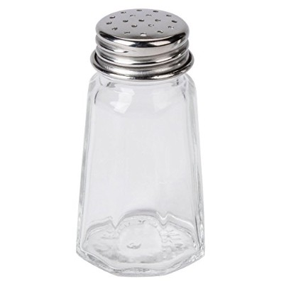 フラットPaneled Salt and Pepper Shaker – 4 /パック