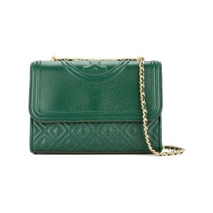 Tory Burch Fleming small convertible shoulder bag - グリーン