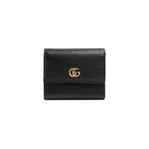Gucci GG Marmont leather wallet - ブラック