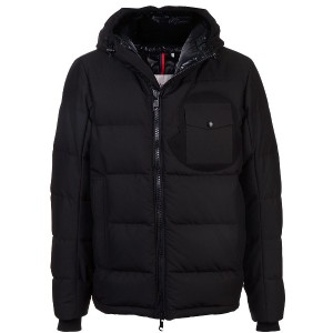 Moncler fitted puffer jacket - ブラック