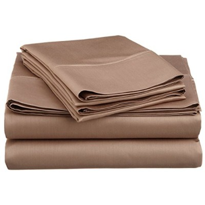 Impressions Cotton Blend 600 Thread Count , Deep Pocket, Soft, Wrinkle Resistant 4-Piece Olympic...