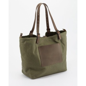 HOUSTON REVERSIBLE TOTE BAG○6720 Olive drab カバン・バッグ