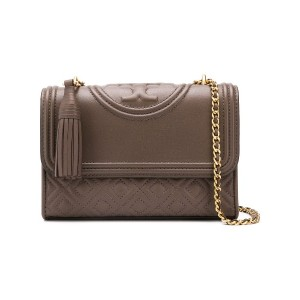 Tory Burch Fleming small shoulder bag - グレー