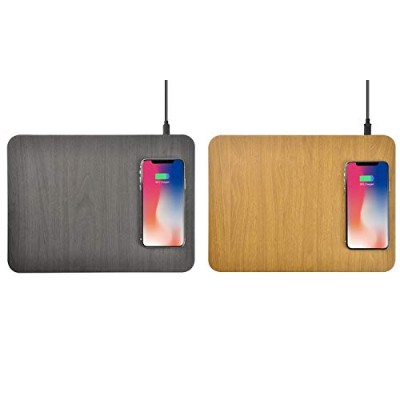 Wireless Quick Charge Mouse Pad QI ワイヤレス 無線充電器マウスパッド (iPhone XS/XR / X / 8, Galaxy S10 / S9 / Note...