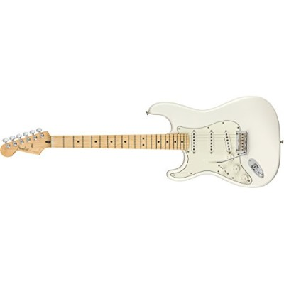Fender エレキギター Player Stratocaster® Left-Handed, Maple Fingerboard, Polar White