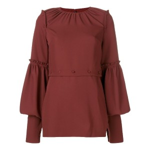 Rokh longsleeved blouse - レッド
