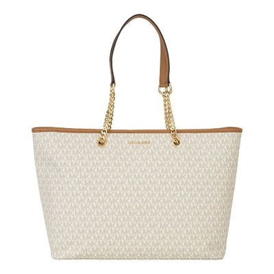 マイケル コース トートバッグ Michael Kors Signature Medium Multifunction ToteVanilla