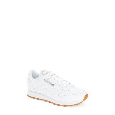 リーボック レディース スニーカー シューズ Reebok Classic Leather Sneaker (Women) Us-White/ Gum