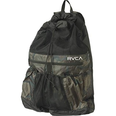 【RVCA】ルーカ2018春夏 DRAWCORD BACKPACK メンズ バックパック リュック 海 スポーツ CAM OneSize