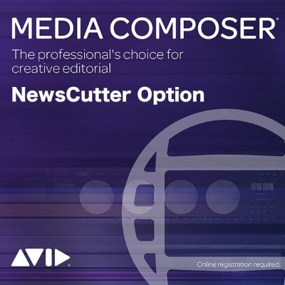 Avid/Media Composer Perpetual | NewsCutter Option Floating License: 5 Pack【永続ライセンス】【フローティング】【パッケージ版】